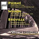 Trois Pièces en Trio pour violon, alto et violoncelle: Dédicace sur le nom de Frères Pasquier
