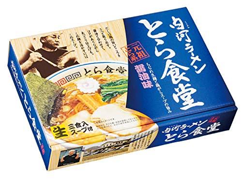 久保田麺業 白河ラーメン とら食堂(大)330g