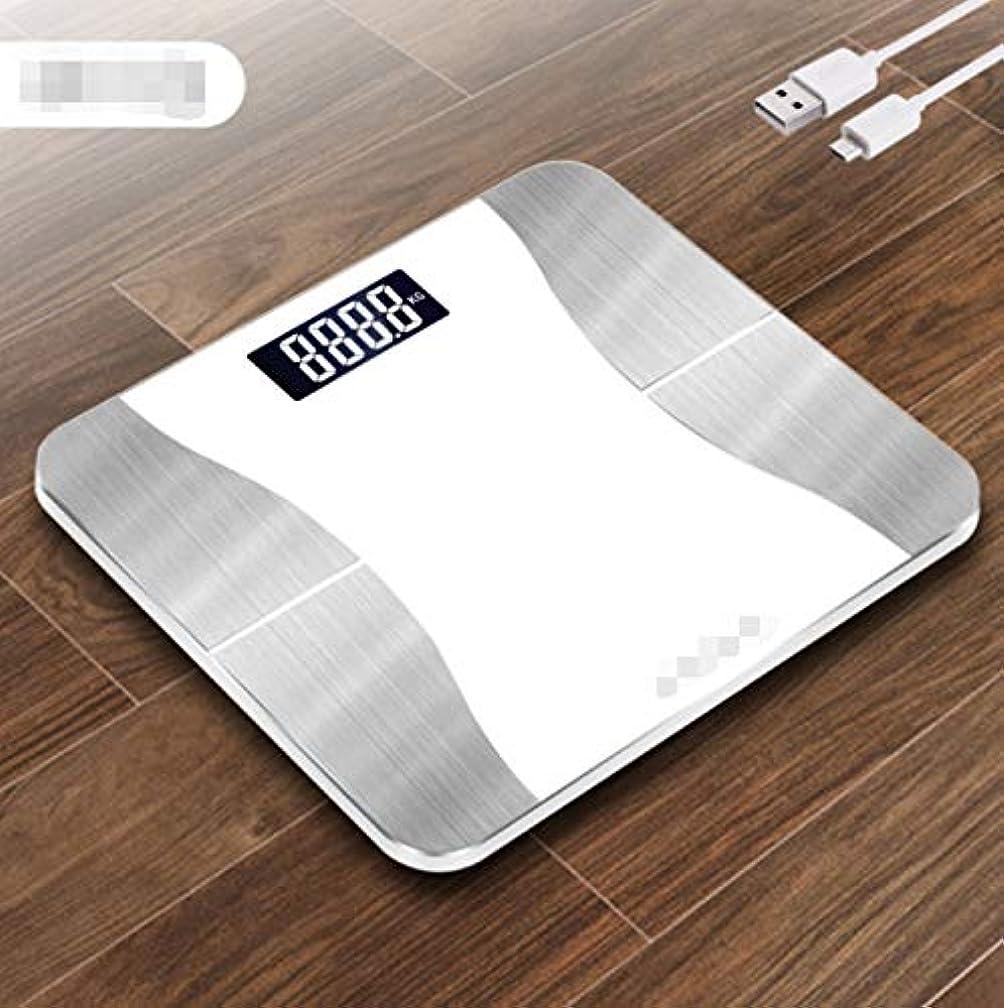 ほんの自然リンケージGUANG 体重計 体脂肪 体重体組成計 USB充電 体重計 スマホ連動 三色のエレガントなスタイル体脂肪計 体重/体脂肪率/皮下脂肪/内臓脂肪/筋肉量/骨量/体水分率/基礎代謝量/BMIなど測定可能 Bluetooth 体組成計 iOS/Androidアプリで健康管理 ヘルスケア同期 スマートスケール (Color : White)