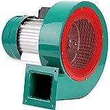 WXX 220V Kreisel Saugzuggebläse, geringes Rauschen und Hochtemperaturbeständige Industrie Ventilator, Multi-Blade-Radiallüfter,120W