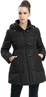 Outerwear Women's Marlo Hooded Toggle Down Parka Coat Pregnancy Winter Jacket