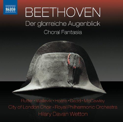 Der glorreiche Augenblick, Op. 136: Recitative and Quartet: Der den Bund im Sturme fest gehalten (Seherin, Vienna, Fuhrer des Volkes, Genius)