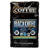 Fresh Roasted Coffee LLC, Organic Black Knight Swiss Water Decaf Coffee, Artisan Blend, Dark Roast, Whole Bean, 2 Pound Bag