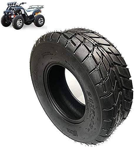 aipipl Neumáticos de Scooter eléctrico, neumáticos de Kart/ATV 21x7-10, neumáticos sin cámara Antideslizantes Resistentes al Desgaste de 10 Pulgadas, patrón de Banda de Rodadura de Doble propósit