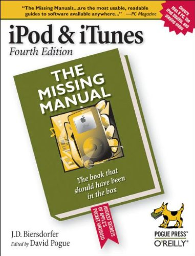 Price comparison product image iPod & iTunes: The Missing Manual,  Fourth Edition
