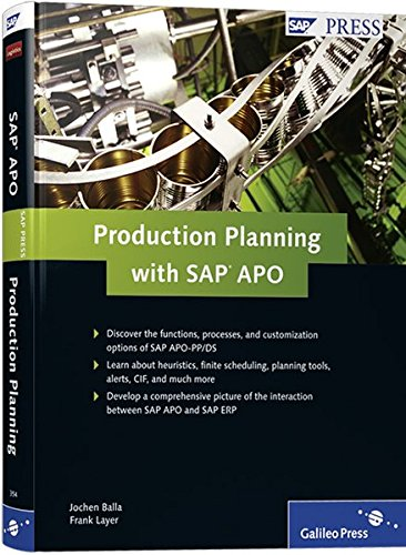 Production Planning with SAP APO (SAP PRESS: englisch)