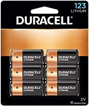 Duracell - 123 High Power Lithium Batteries - 6 Count