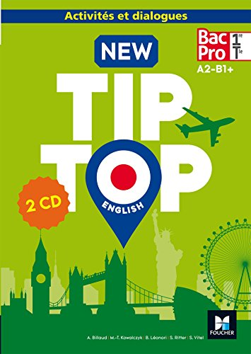 NEW TIP-TOP English 1re/Tle Bac Pro - Éd. 2017 - CD audio
