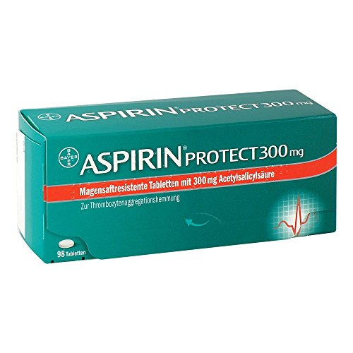 ASPIRIN Protect 300 mg magensaftres.Tabletten 98 St