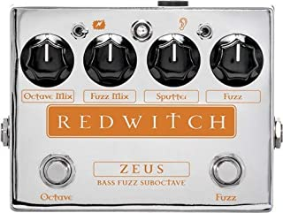 red witch bass pedals