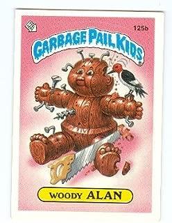 Garbage Pail Kids sticker trading card 1986 Topps #125b Woody Alan