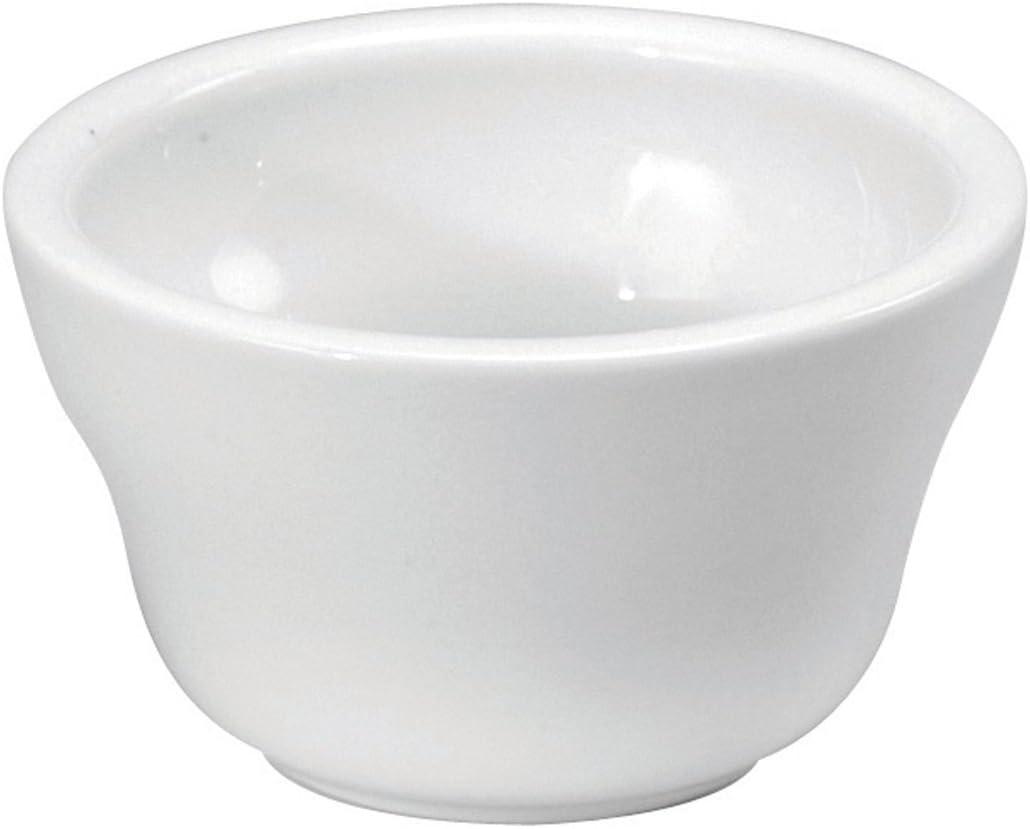 Oneida Foodservice ※ラッピング ※ Bright White Porcelain オンラインショッピング 36 S Bouillon Set of