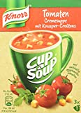 Knorr Cup a Soup Tomatencreme mit Knusper-Croutons Instant Suppe (12 x 3 Tassen)