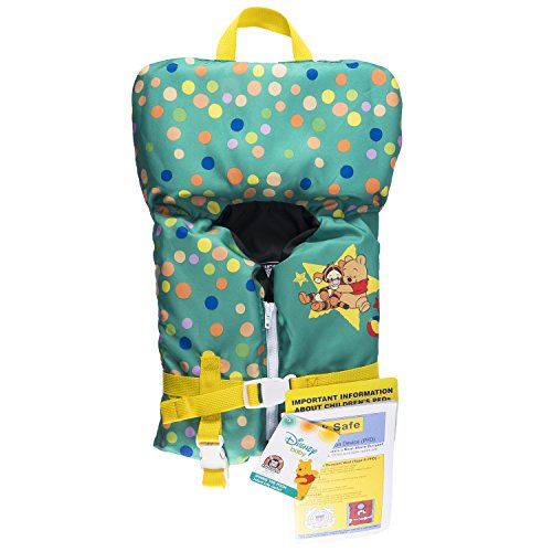 "SwimWays Sea Squirts Infant Life Jacket, Disney Baby Winnie The Pooh, 11"" x 10"""