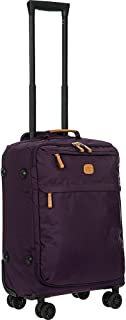 Bric's X Travel 21 Inch International Carry on Spinner, Violet (Purple) - BXL48117-201