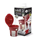 Solofill K3 Chrome Refillable Filter Cup for Keurig(R) 1st Generation