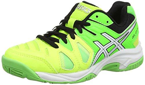 ASICS Gel-Game 5 GS, Scarpe da Tennis Bambini e Ragazzi, Giallo (Flash Yellow/White/Flash Green 0701), 34