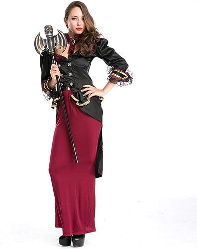 Olydmsky karnevalskostüme Damen Party Kostüm Halloween Queen Cosplay Hexenkostüm Spielen