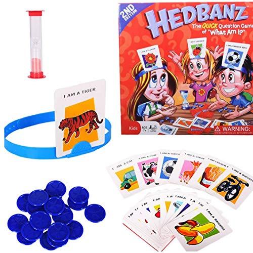 1 Pc Hedbanz jeu Devinez Qui je suis Board Game Family Game Disney Jeu de cartes Jouets Toy Cadeaux de vacances