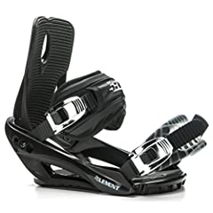 Performance Bindings on a Budget - The Stealth 3 is an economical choice for riders of all levels who don't want to burn a hole in their pocket. Locked-In Control - The binding's convertible toe strap conforms seamlessly to any boot shape for full co...
