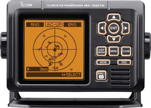 ICOM Class B AIS transponder, 40,6cm, colore: Nero