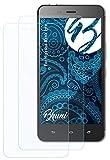 Bruni Schutzfolie kompatibel mit Hisense Rock Lite Folie, glasklare Bildschirmschutzfolie (2X)