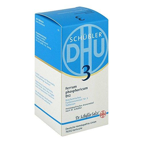 DHU Schüßler-Salz Nr. 3 Ferrum phosphoricum D12 Tabletten, 420 St. Tabletten