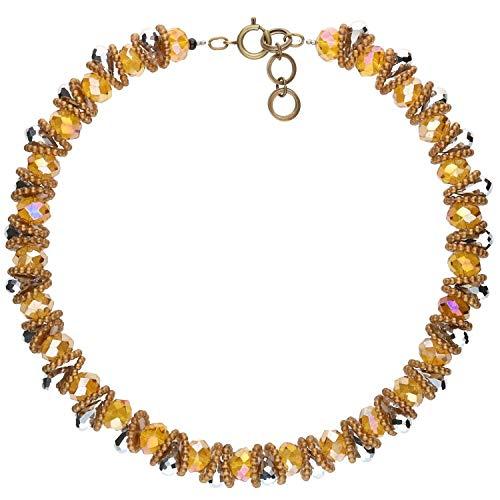langani Damenhalskette Pireli Kette für Damen wunderschön hochwertig Handmade Since 1952