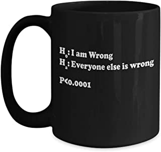 Statistics Joke Mug | Statistics Gifts | Math Joke | Statistics Humor | Statistician Joke | Nerdy Mug | Funny Nerd Coffee Mug | Geeky Mug