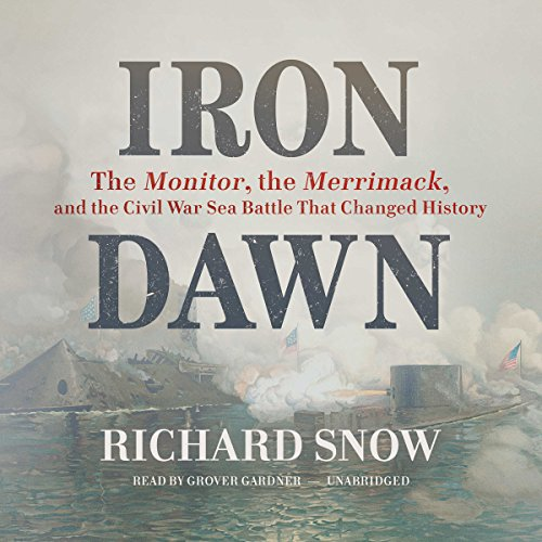Iron Dawn audiobook cover art