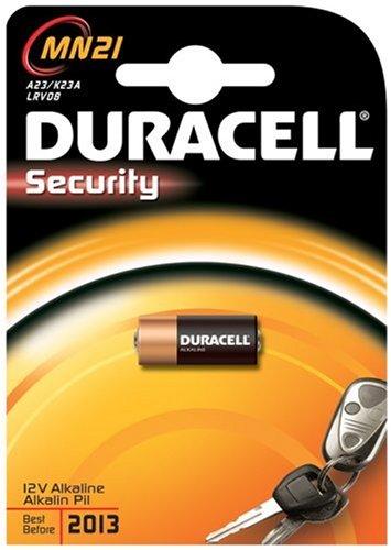 Energizer-pile 12v A23 Duracell Security - Blister De 1