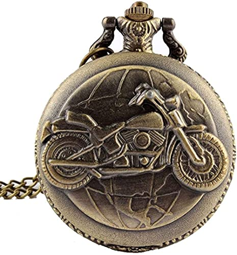 BEISUOSIBYW Co.,Ltd Collares Mujeres Hombres Retro Modelo del Zodiaco Reloj de Bolsillo Moderno Collar Cadena Cobre Doce Estrellas Colgante Colgante Reloj de Jubileo Regalos para Hombres Mujeres
