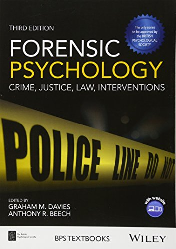 Compare Textbook Prices for Forensic Psychology: Crime, Justice, Law, Interventions,  BPS Textbooks in Psychology 3 Edition ISBN 9781119106678 by Davies