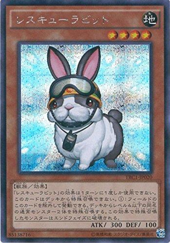 遊戯王カード TRC1-JP020 レスキューラビット シークレットレア 遊戯王アーク・ファイブ [THE RARITY COLLE...