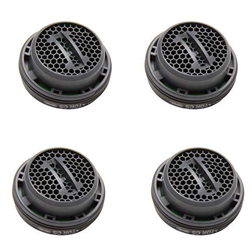 Preisvergleich Produktbild Neoperl 4x Luftsprudler Ersatz PERLATOR® Coin Slot Strahlregler 7, 5L / Min M24x1 Ohne Schlüssel Mischdüse Mischpatrone Armaturensieb