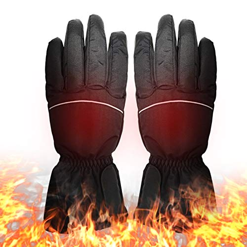 Lixada Battery Heated Gloves Electric Operated Thermal Gloves Hand Warmer Gloves for...