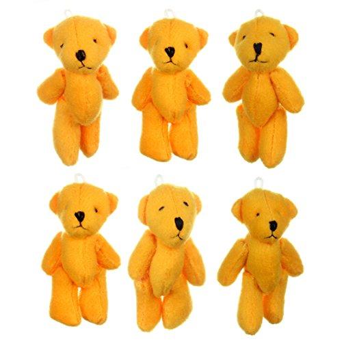 NEW mignon petits oursons Orange X 75–cadeau d'anniversaire, cadeau de Noël