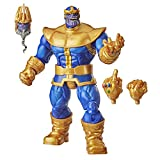 Hasbro Marvel Legends Series 6-inch Collectible Action Figure Thanos Toy, Premium Design and 3 Accessories, F0220