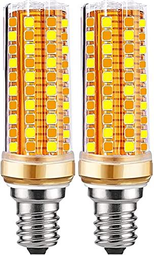 Bombillas Led E14 Regulable(Cálido-Natural-Frío) 3luz 20W Maíz Bombilla Incandescente Bombillas equivalente a 200W, 6000K Cálido 2000LM, E14...