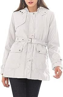 Women's Winter Hooded Parka Coat Warm Faux Fur Lined Parka Outwear Military Safari Anorak Jacket