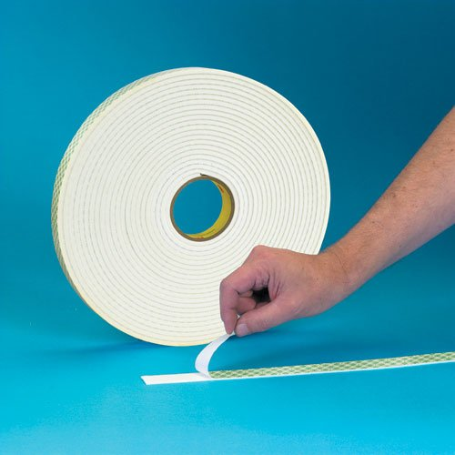 3M 2021 Double Coated Urethane Foam Tape 4008 2 1 Off in White x 36 Ranking TOP8