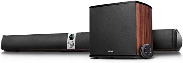 Edifier S70DB Soundbar and Wireless Subwoofer Hi-Res Audio System - Digital Optical, Bluetooth and Analog Inputs for Turntables and Other AUX Systems