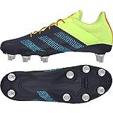 Adidas Kakari Elite (SG), Chaussures de Rugby Mixte Adulte - Multicolore - Multicolore (Tinley Ciasen Versen), 38 EU EU