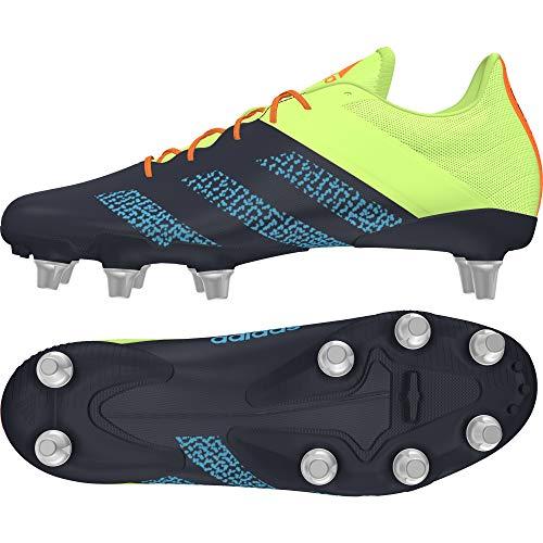 adidas Kakari Elite (SG), Botas de Rugby Unisex Adulto, Tinley/CIASEN/VERSEN, 39 1/3 EU