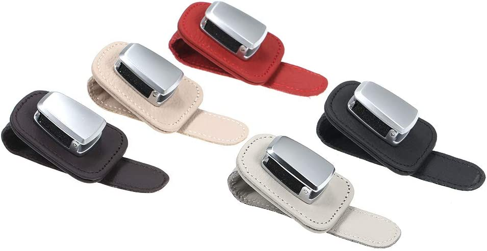 Entweg Sunglasses Holder Clip,Glasses Holders for Car Visor Sunglasses Holder Clip Hanger Eyeglasses Mount