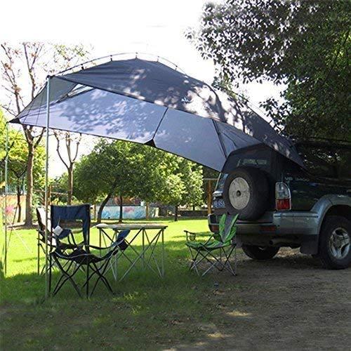 KOSIEJINN Carpa para automóvil, Carpa portátil para automóvil Familiar, Carpa para Campamento de Verano Carpa para sombrilla Carpa para automóvil 350 * 240 * 105,Carpa para sombrilla para automóvil