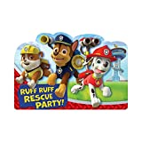 Paw Patrol Invitation Postcard, Party Favor