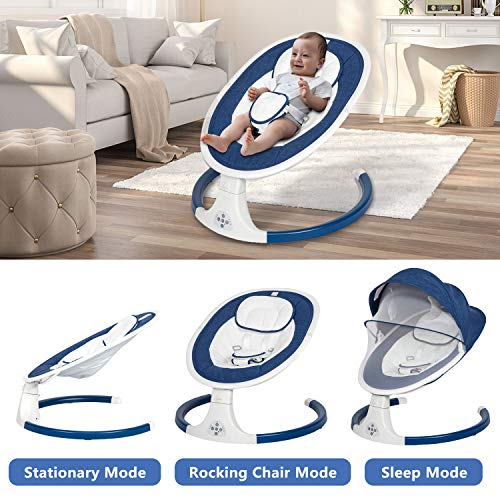 51qjZa840kL The Best Battery Operated Baby Swings in 2021 Reviews