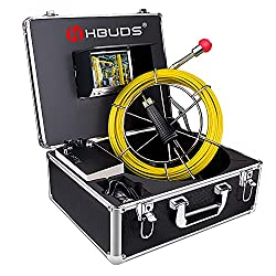 powerful Pipeline inspection camera, industrial drainage endoscope HBUDSPIC20 waterproof IP68…