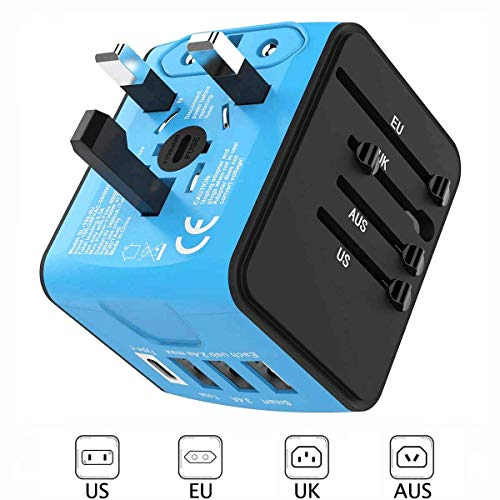 European Travel Adapter,Universal Travel Adapter, International Travel...
